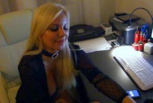 Tatjana Gsell bei der Arbeit